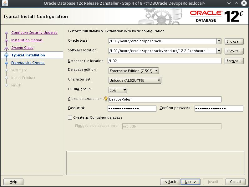 Install Oracle Database 12c on Centos 7 4