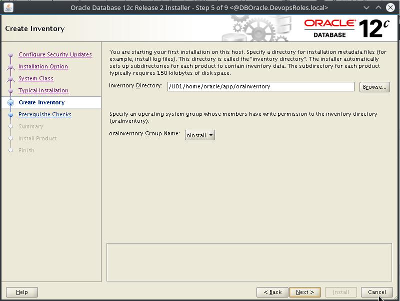 Install Oracle Database 12c on Centos 7 - DevopsRoles com