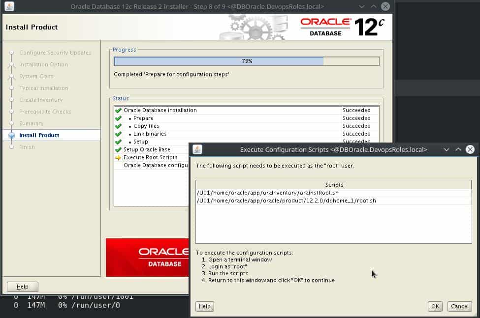 Install Oracle Database 12c on Centos 7 8
