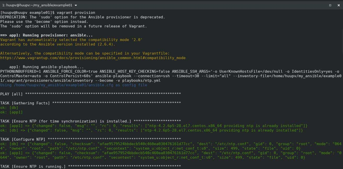 Vagrant Ansible 01