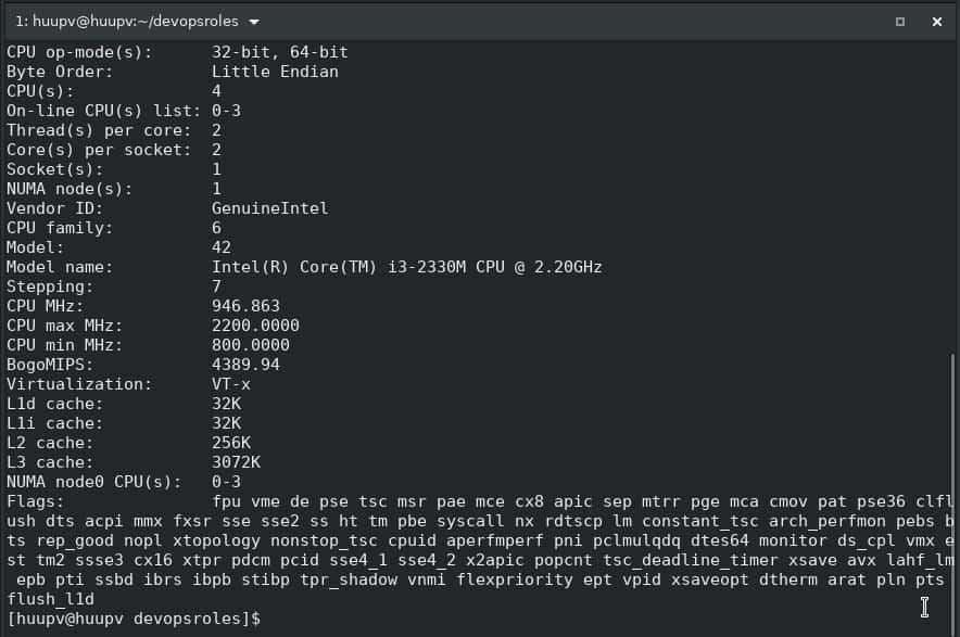 Linux System Information 02