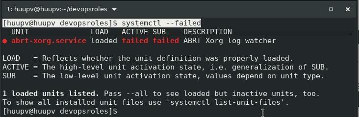 Linux list services 02