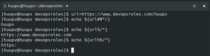 Linux shell script tips url