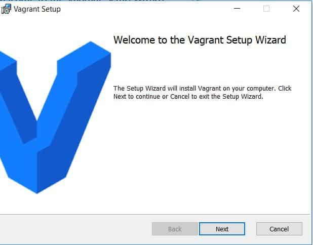 Install Vagrant on Windows 10